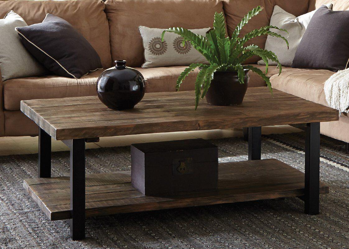Somers 42 Wood Metal Coffee Table Coffee Table Wood Coffee Table Rustic Coffee Tables [ 800 x 1122 Pixel ]