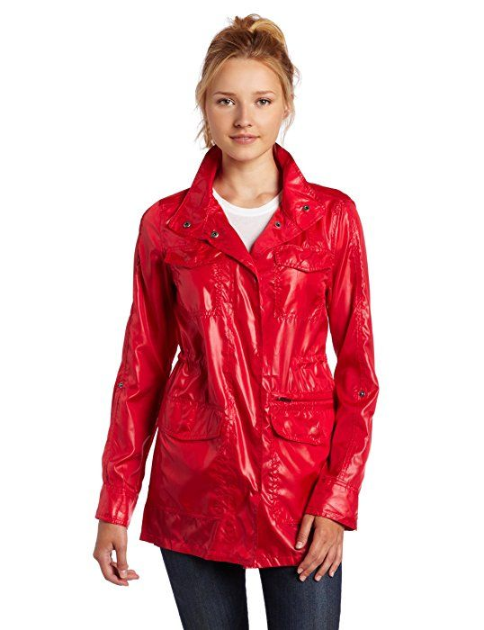5863a6f99d9 Hurley Juniors Winston Packable YC Jacket, Rasperry, Small | Shiny ...