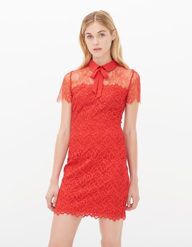 Robe rouge sandro 2014