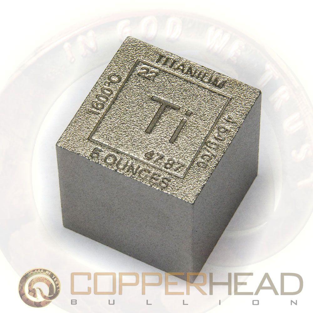 1 x 5oz 999 fine titanium bullion cube element design square bar 8 1 x 5oz 999 fine titanium bullion cube element design square bar 8 10 16 20 urtaz Choice Image
