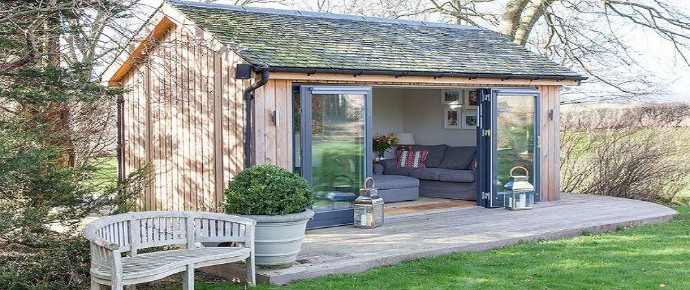 Jml garden rooms scotland traditional and bespoke for Traditional garden buildings
