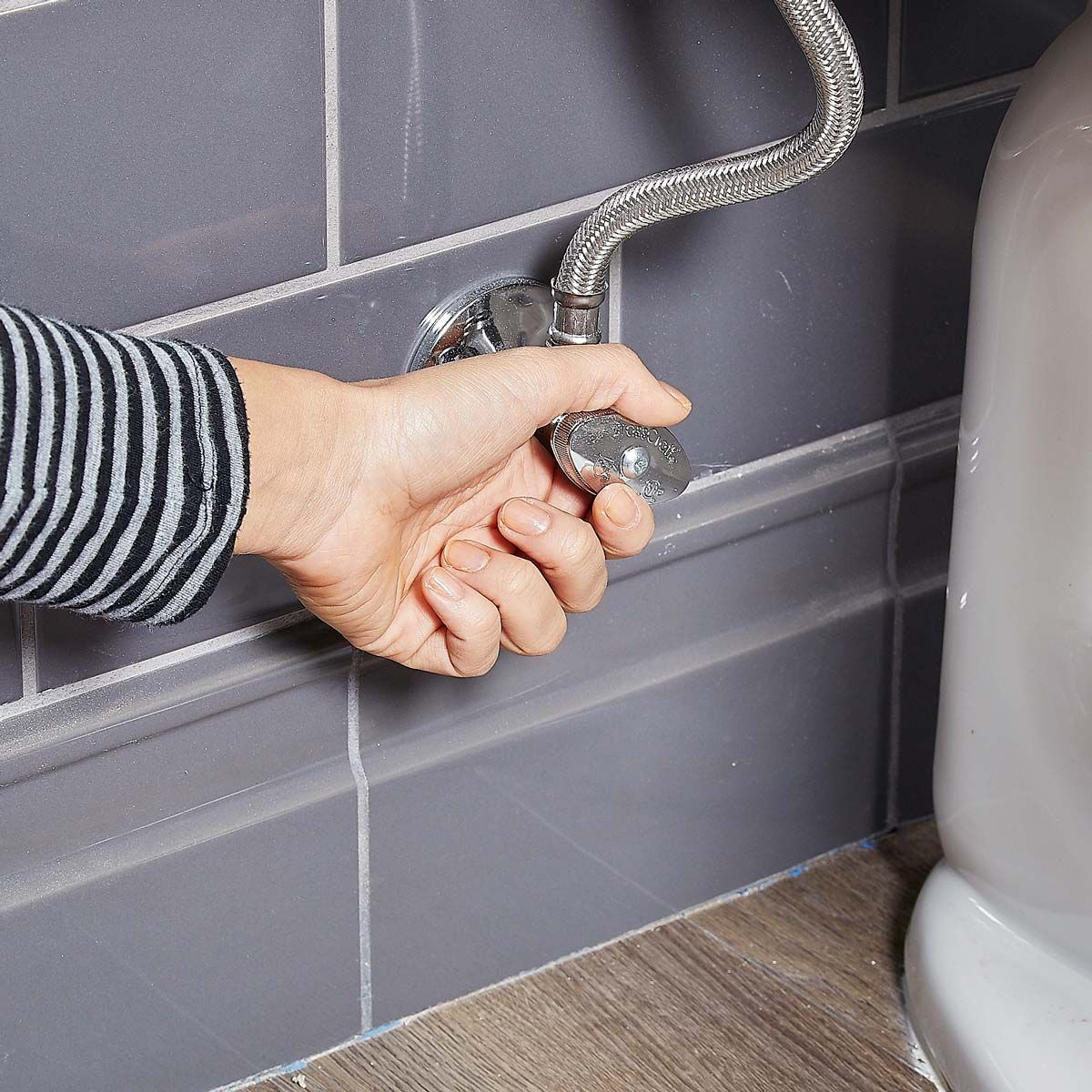 Best way to flush toilet when water is off