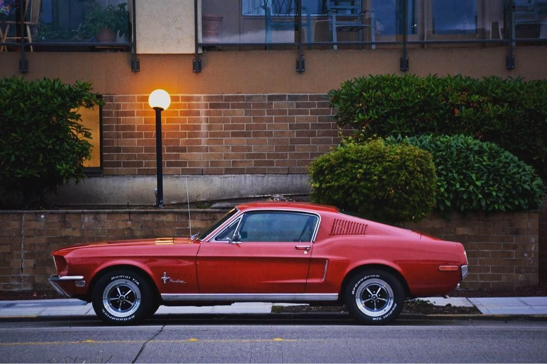 took a pic of this gorgeous 67 fastback at 5 10 am ford mustang gt rh pinterest com