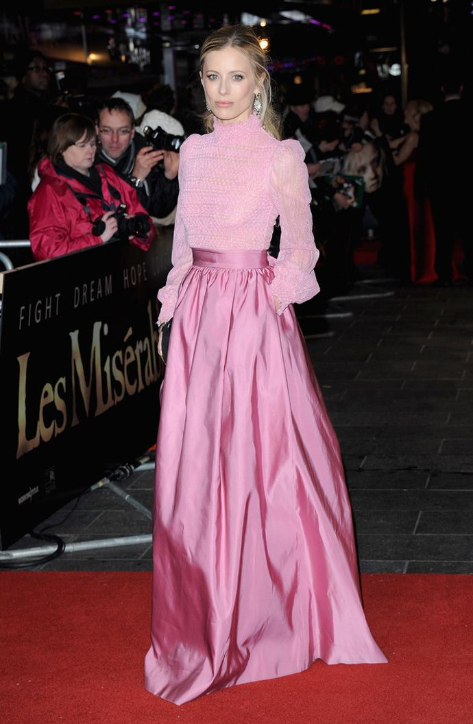 Pretty in Pink- Laura Bailey in Valentino | Style I Live For ...