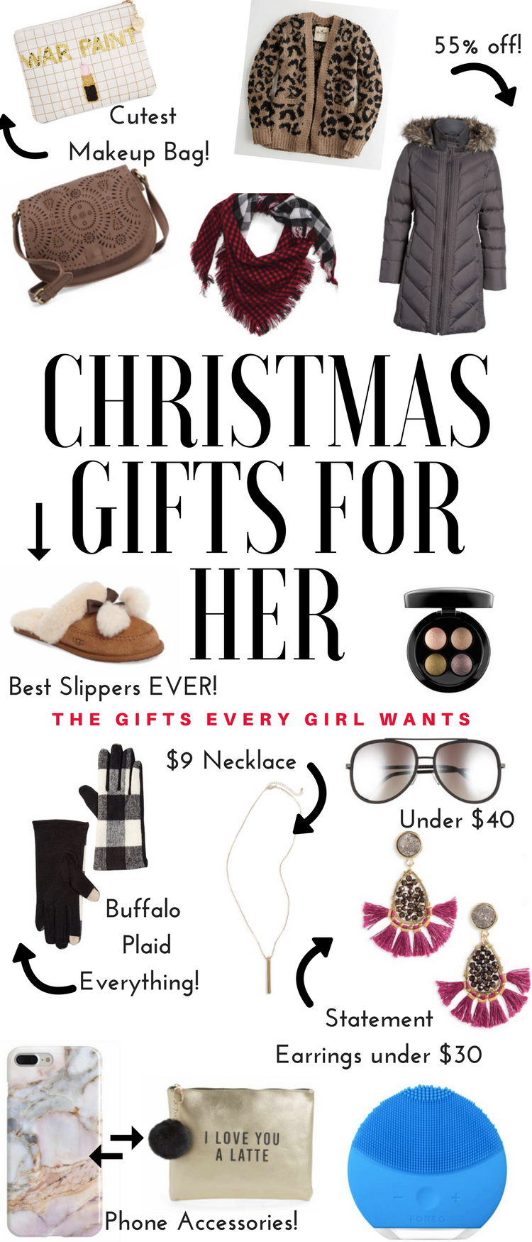 Christmas Gifts For Everyone Everyday With Bay Fashion Gifts Fashion Gifts For Her