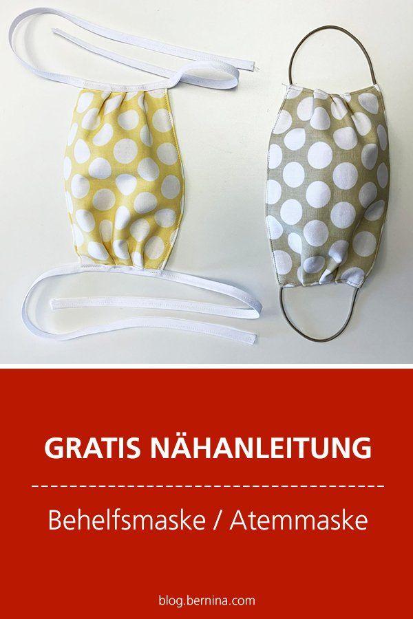 Kostenlose Nähanleitung: Behelfsmaske / Atemmaske