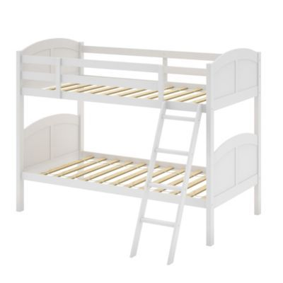 Best Corliving™ Concordia White Painted Solid Wood Single Bunk 400 x 300