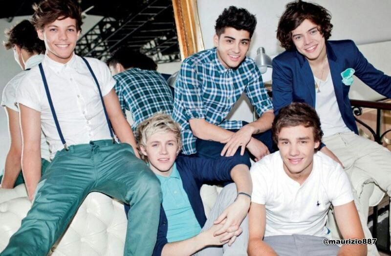 Alana Pilkington On One Direction Photoshoot One Direction