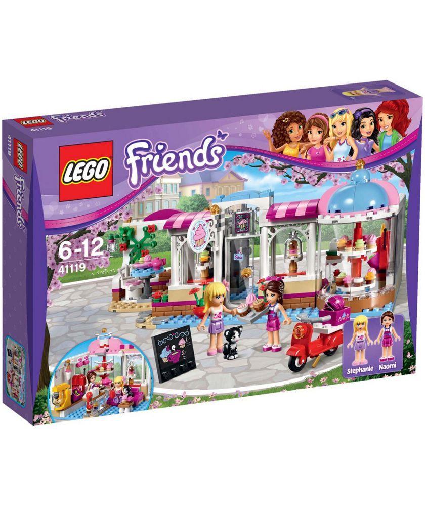 Buy Lego Friends Heartlake Cupcake Cafe Playset 41119 At Argosco
