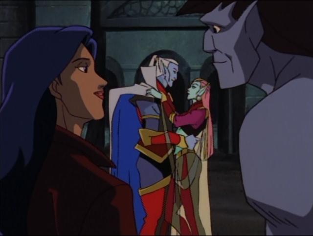 Goliath, Elisa,Oberon & Titania from Disney's Gargoyles ...