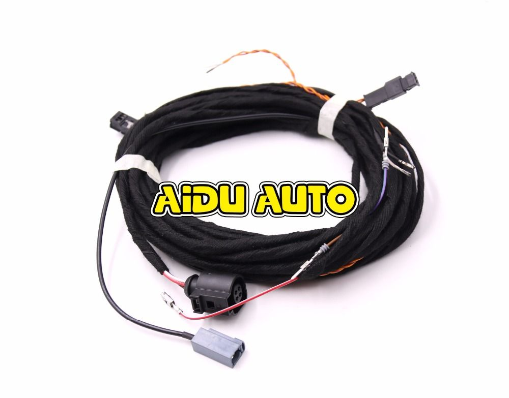 1f9454a123fb873e5b5ce51241a7997a oem rear view camera reversing logo camera cable wire harness for Wire Harness Assembly at crackthecode.co