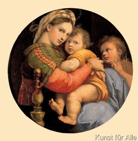 Raffael - Madonna della Sedia (Madonna della seggiola)