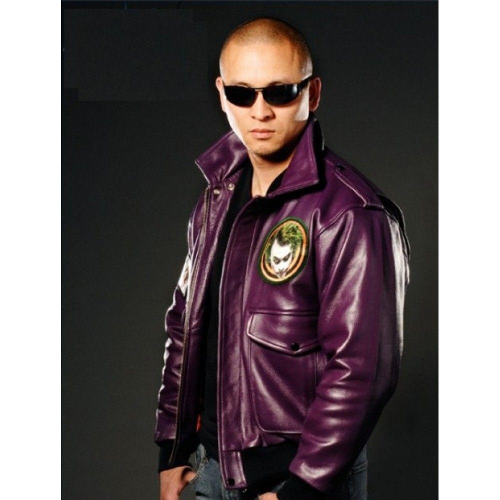 The Dark Knight Joker Goon Leather Jacket Joker Jacket Style Joker Jacket Leather Jacket Celebrity Jackets [ 1000 x 1000 Pixel ]