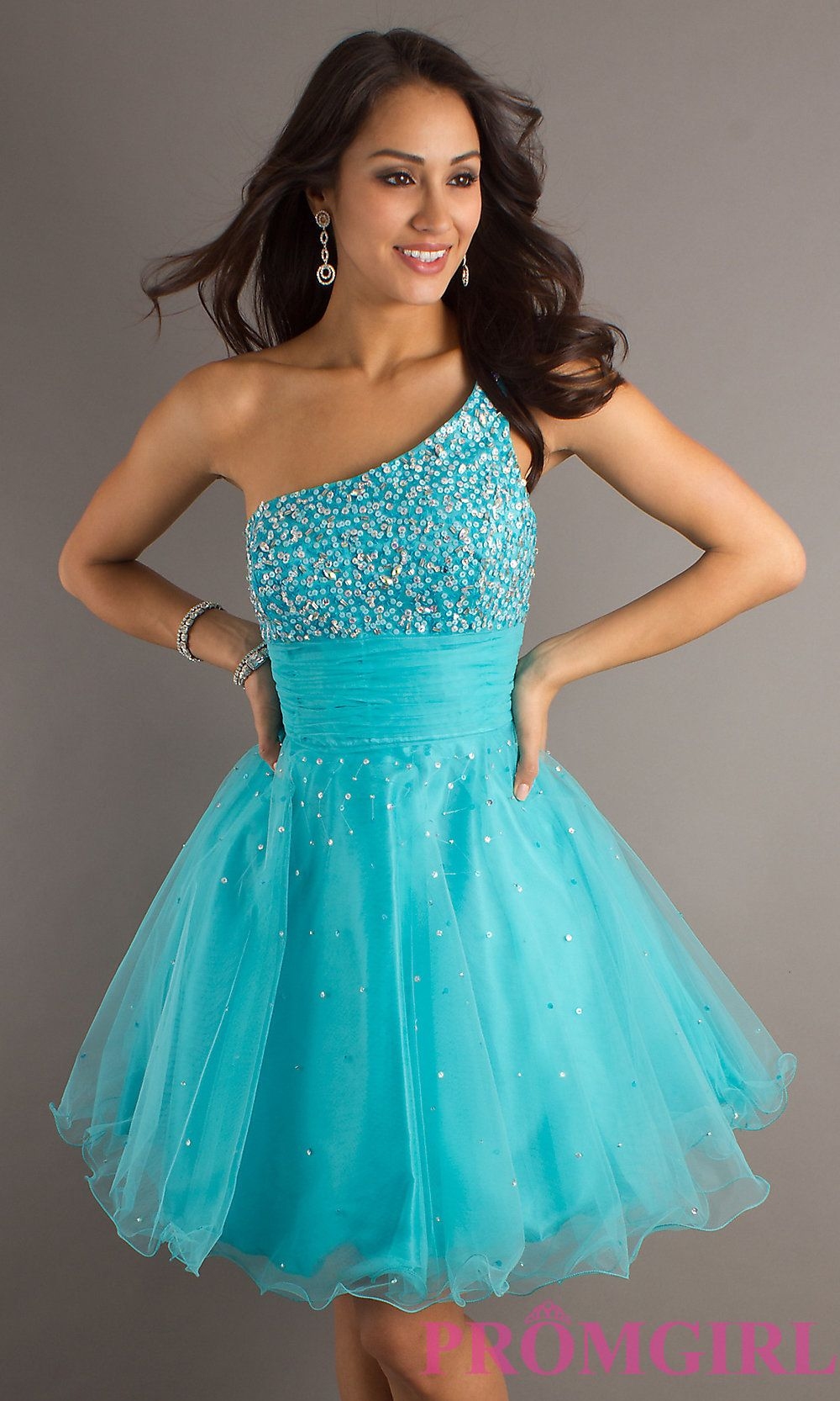 This is my dream dress for prom... Blue for a Smurf... lol | Prom ...