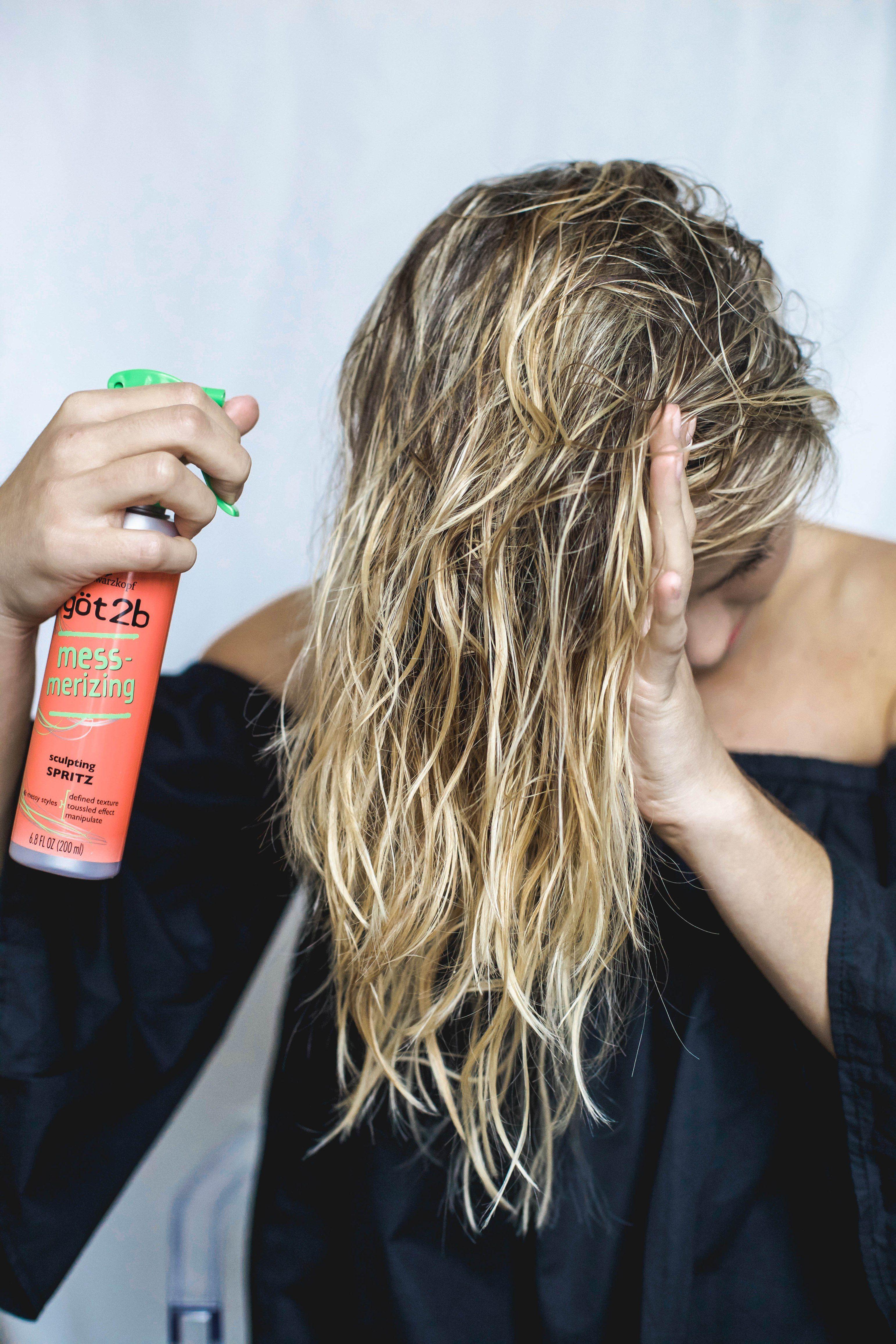 How to no heat beach waves tutorial beach wave hair