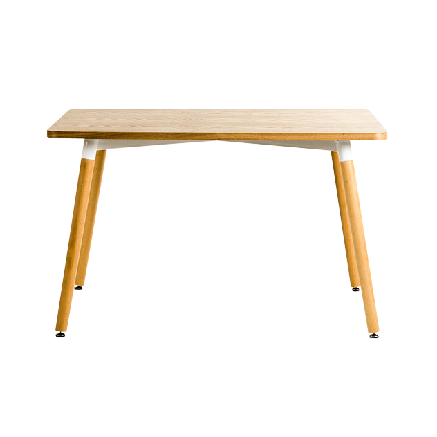 The Gemini range of tables mix a sleek contemporary white finish and warm oak tones; a timeless, elegant colour combination. Available in a variety of combinations and sizes. Ideal for domestic or contract use.