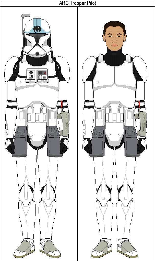 Arc Trooper Pilot By Marcusstarkiller Star Wars Clone Wars Star Wars Art Star Wars Infographic