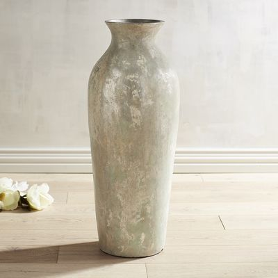 Make Decorating History With Our Elegant Terracotta Floor Vase With