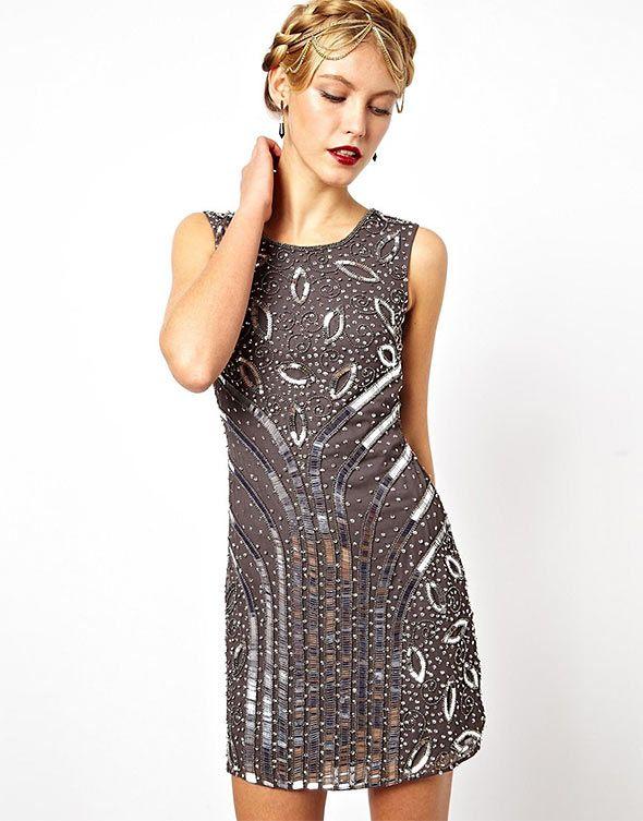 Grey dress, Frock and Frill, ASOS