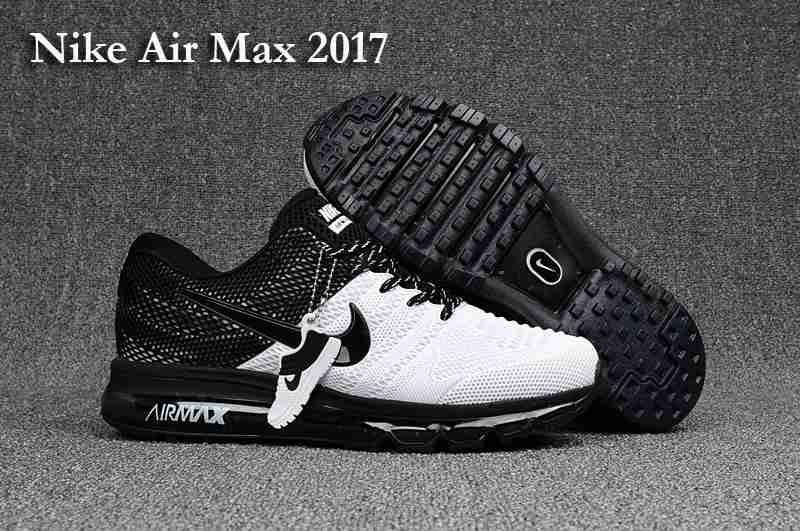 So cool,Clearance New Nike Air Max 2017 KPU Men Black White Online Store -