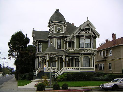 Stunning Gold Coast Victorian in Alameda, Ca. by rogthefrog, via Flickr