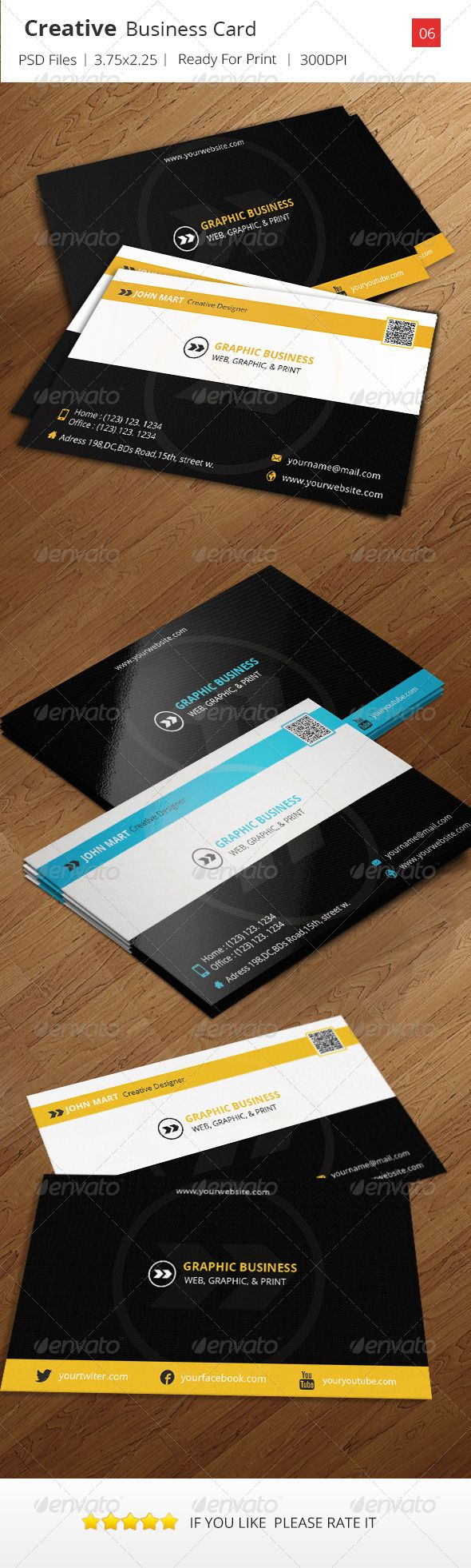 Creative Business Card v.06