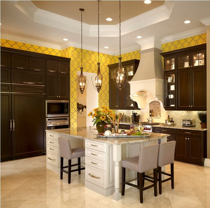 Kitchen At Barbados II Model By #JohnNealHomes. The