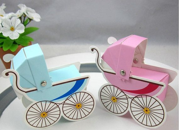 Baby Shower Favors Baby Carriage Pram By Idoidoforeverlove On Etsy, $17.80