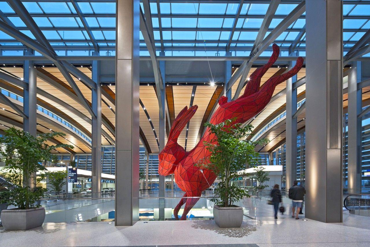 Airports Invest In Public Art Public Art Sacramento Airport Airport