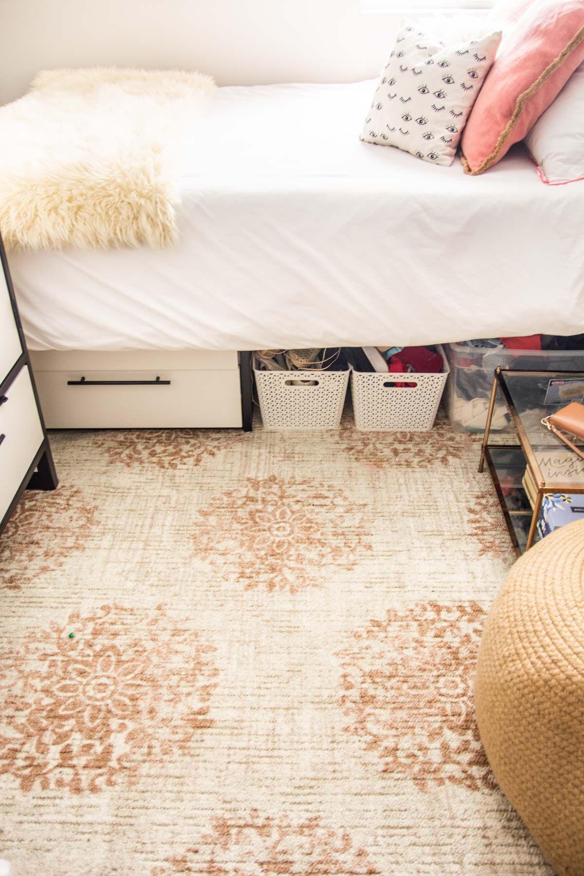 Dorm Room Rugs: Cornell Apartment: Area Rugs For Each Bedroom