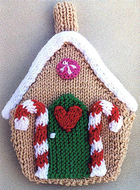 79ce462c24c Frugal Knitting Haus - Gingerbread House - - Knit ePatterns
