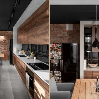 12 Aneks kuchenny w stylu loft
