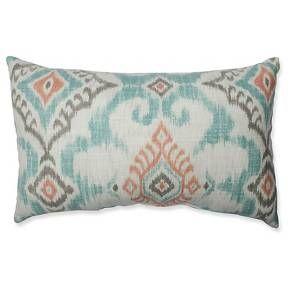 "Green Throw Pillow Perfect Kantha Surf Floor Throw Pillow (24.5""x24.5"") - Pillow Perfect"