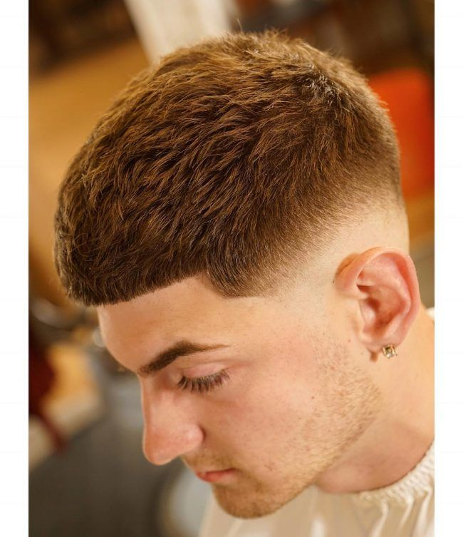 Mens Short Hairstyles For Round Face Shapes Mens Hairstyles And