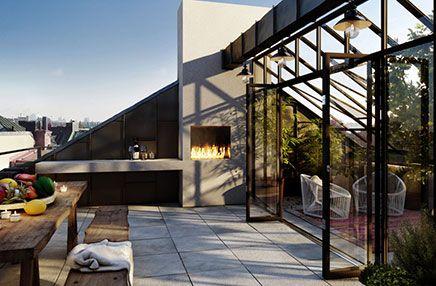 Dakterras ideeën van oscar properties rooftop gardens verandas