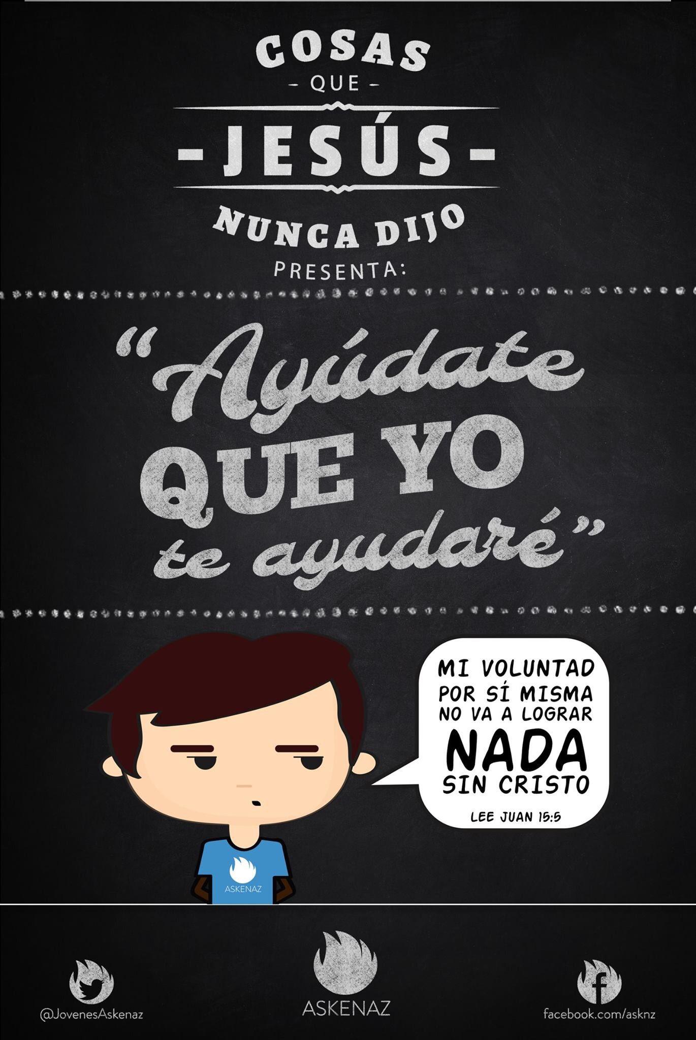 #CosasQueJesúsNuncaDijo
