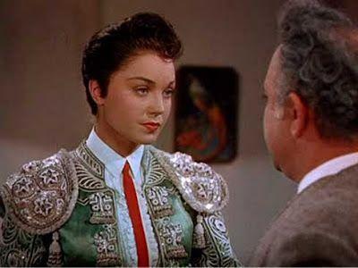 """Esther Williams """"La Sirena de América"""", como era apodada, fue una de las actrices más taquilleras de la época.   Entre su dilatada filmografía, en 1947 protagonizó una película con argumento taurino titulada """"Fiesta Brava"""", dirigida por Richard Thorpe y en la que actuó al lado de Ricardo Montalbán, Cyd Charisse y John Carrol, entre otros.De toros... y más: 1/06/13 - 1/07/13"""