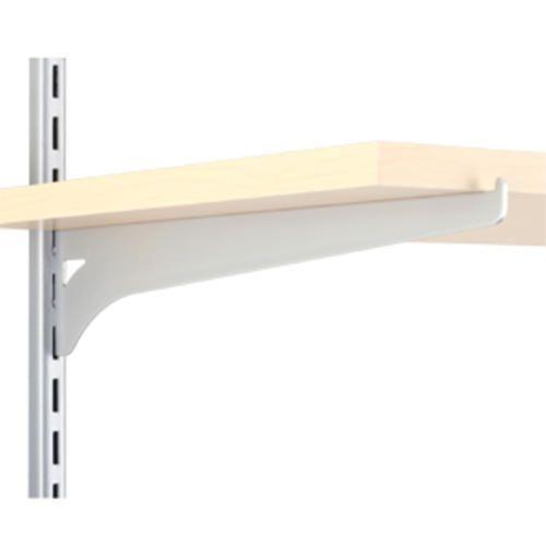 12 Platinum Single Track Wood Shelf Bracket Wood Shelf Brackets Shelving Hardware Shelf Brackets