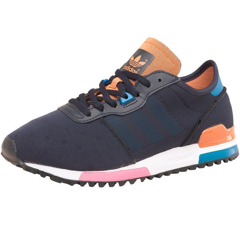 Comprare Adidas Originali Donne Inchiostro Zx 700 Snella Formatori Inchiostro Donne / Blu / L'arancia 8e1c65
