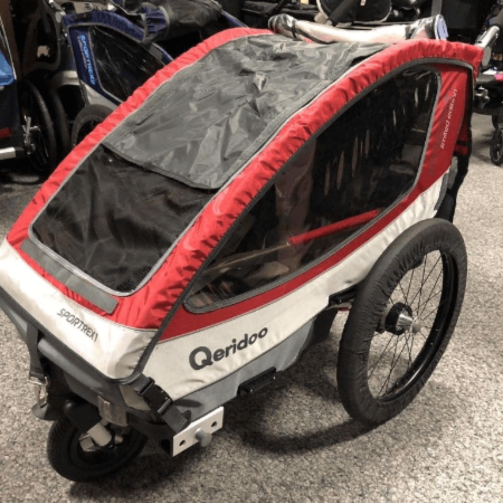 Qeridoo Sportrex1 2018 Red Sportwagen Anhanger Stroller Baby Strollers Baby