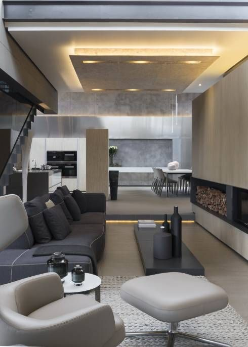Moderne Innenarchitektur Zahnarztpraxis   Schnittiges Haus Mit Ganz Viel Komfort Moderne Wohnzimmer