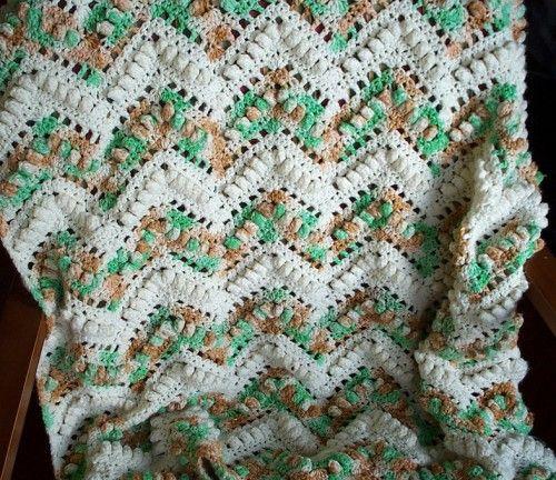 Crochet For Children: Popcorn Ripple Afghan - Free Pattern | Crochet ...