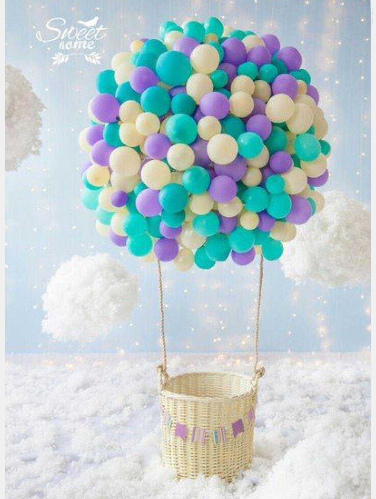 Как сделать воздушный шар для фотосессии
