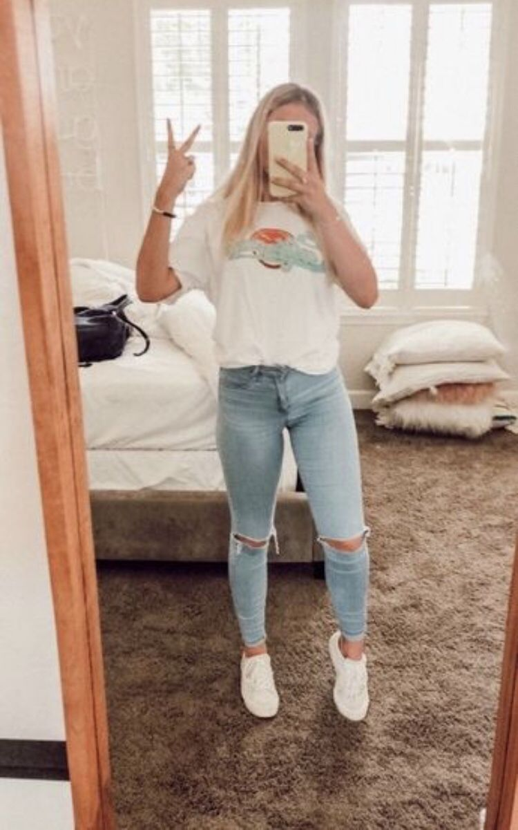 pinterest ☼ livvyholt  Casual school outfits, Teenager outfits
