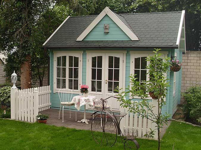 ClockhouseDesign Gartenhäuser im englischen Stil Hütte
