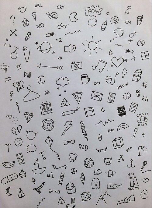 Mini Dibujos Para Esos Momentos De Aburrimiento Dibujos Tumblr En