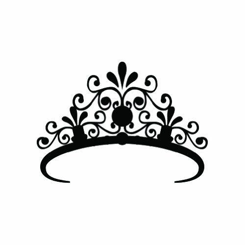 Princess crown silhouette clip art - photo#39