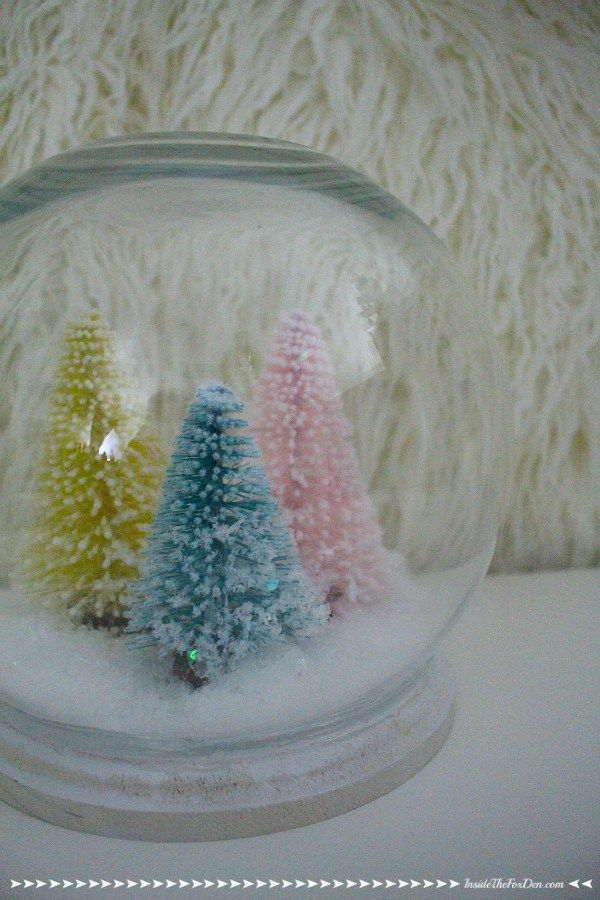 Diy Giant Snow Globe With Images Snow Globes Christmas