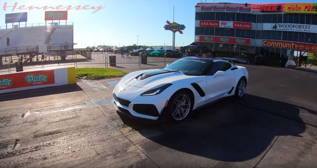 1 000 Hp Corvette Zr1 By Hennessey Takes C7 Quarter Mile Record