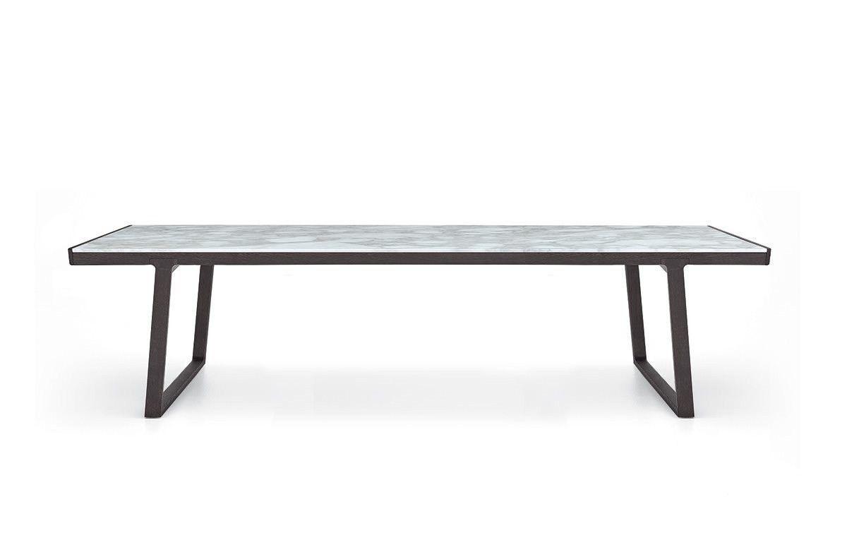 Extending Rectangular Marble Living Room Table Opera By Poliform